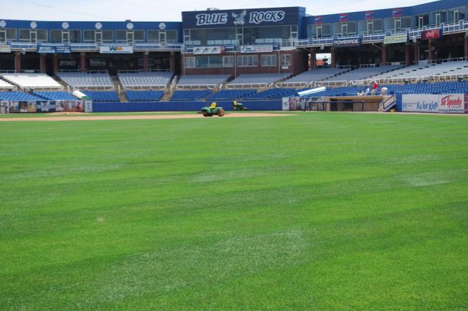 minor league baseball field