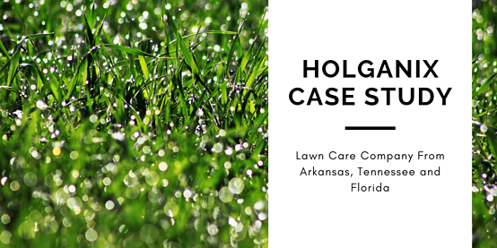 lawn care company holganix