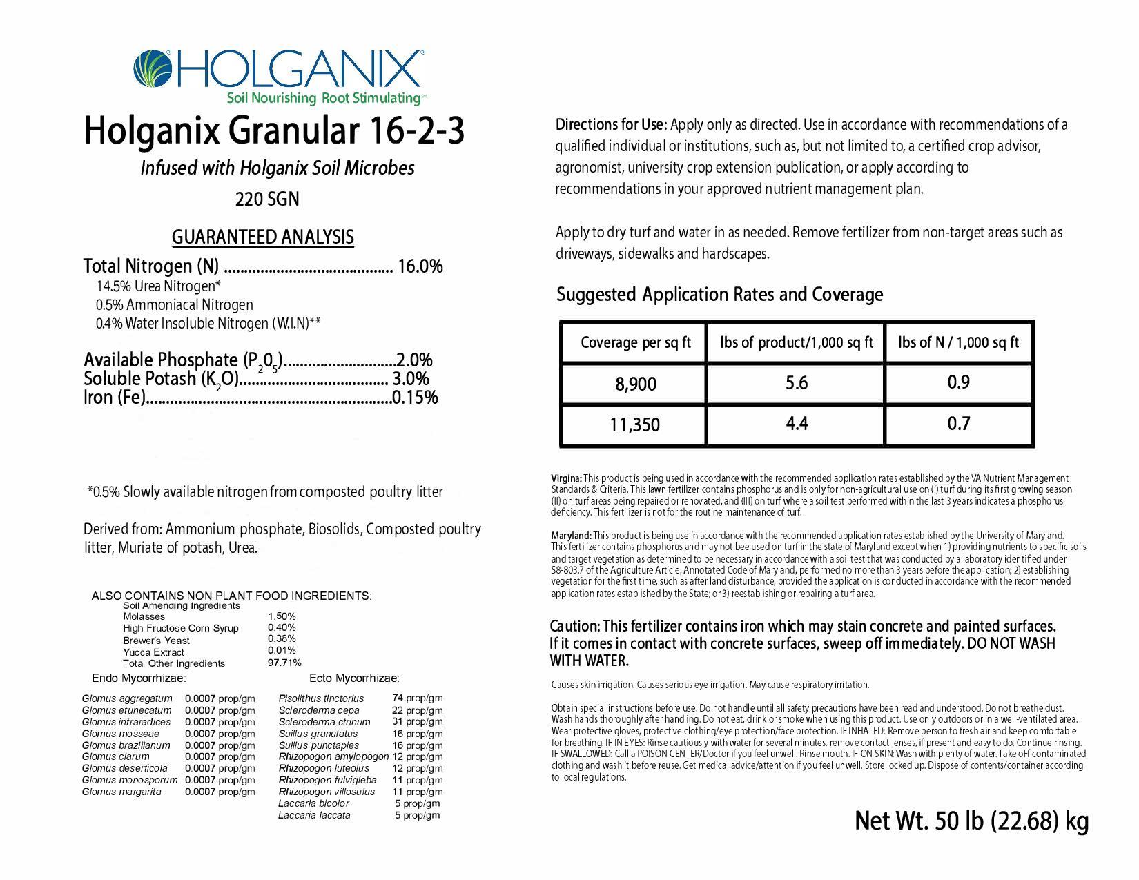 Holganix 16-2-3