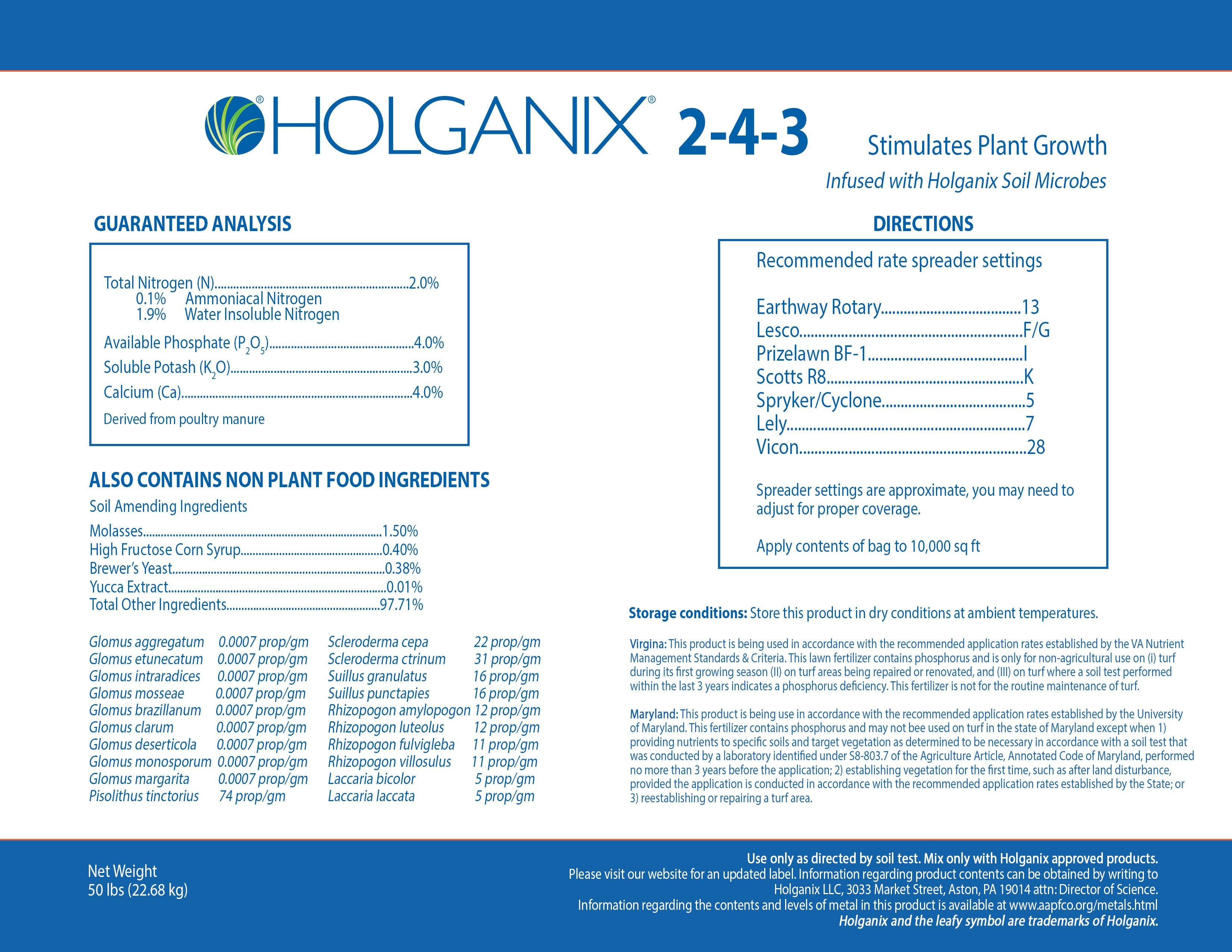 Holganix Granular 2-4-3