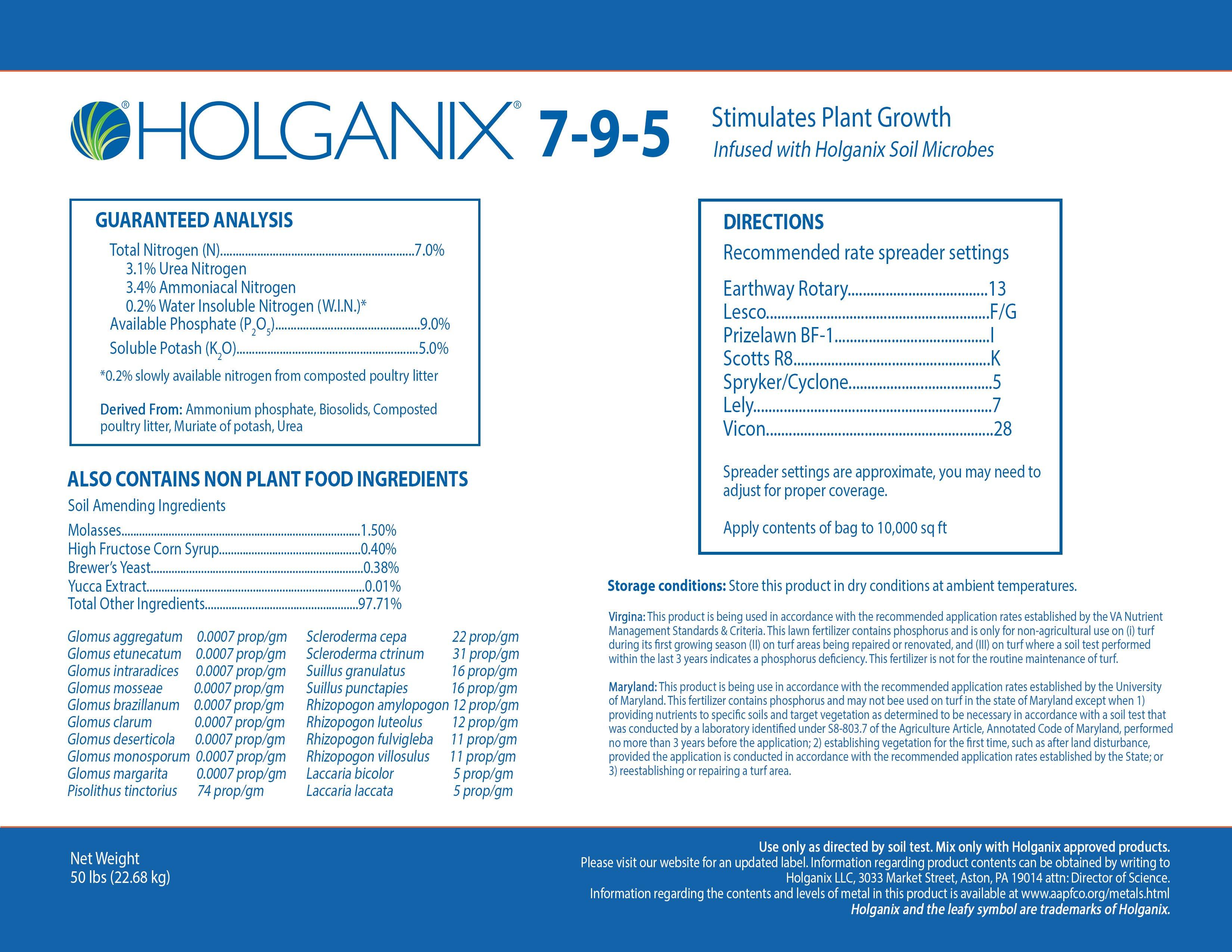Holganix Granular 7-9-5