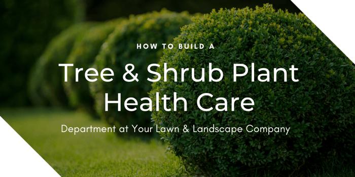 tree and shrub plant health care