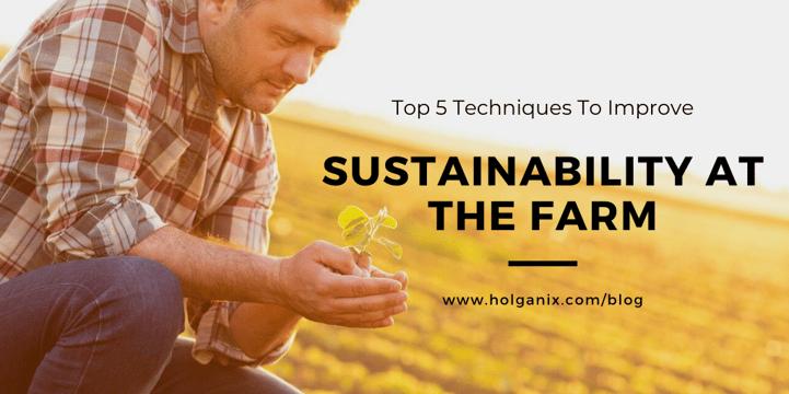 sustainability at the farm