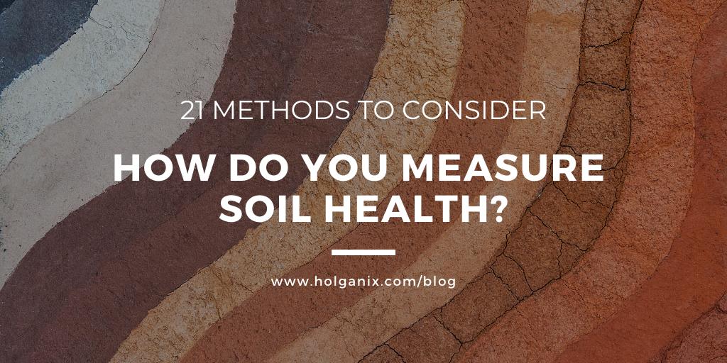 measure soil health