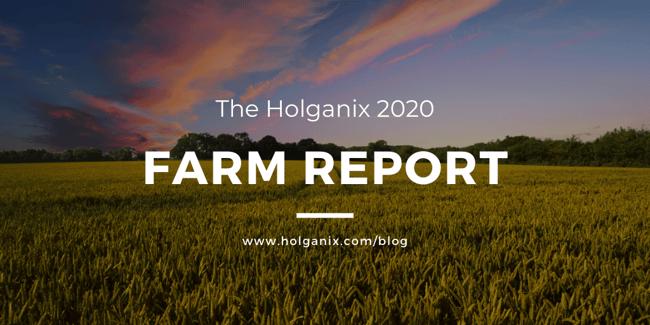 Holganix 2020 Farm Report
