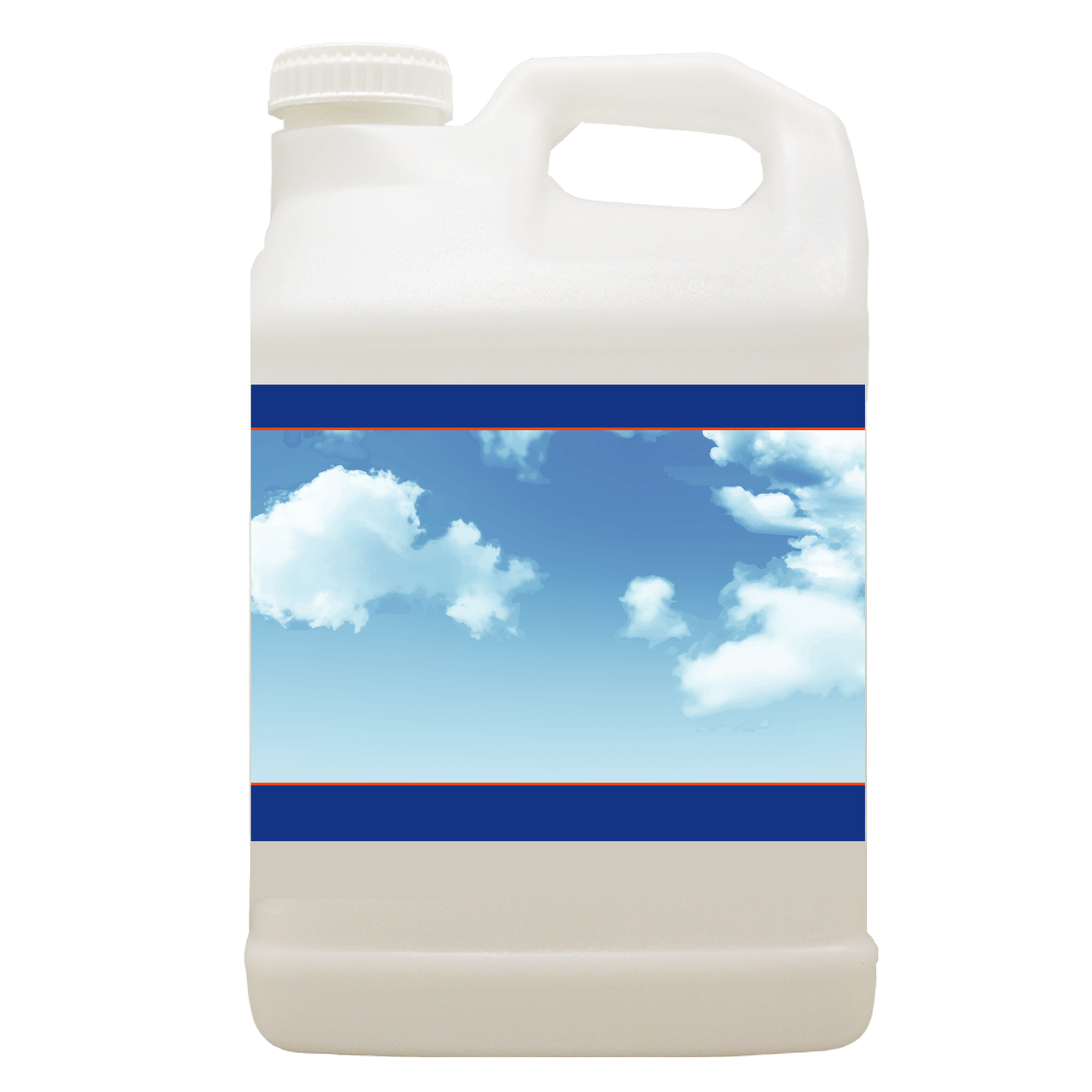 Blue sky jug