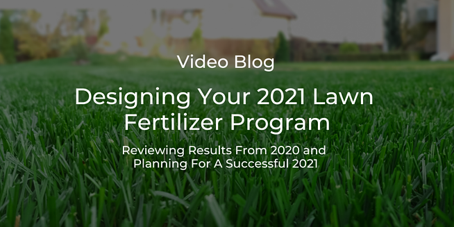 lawn fertilizer program