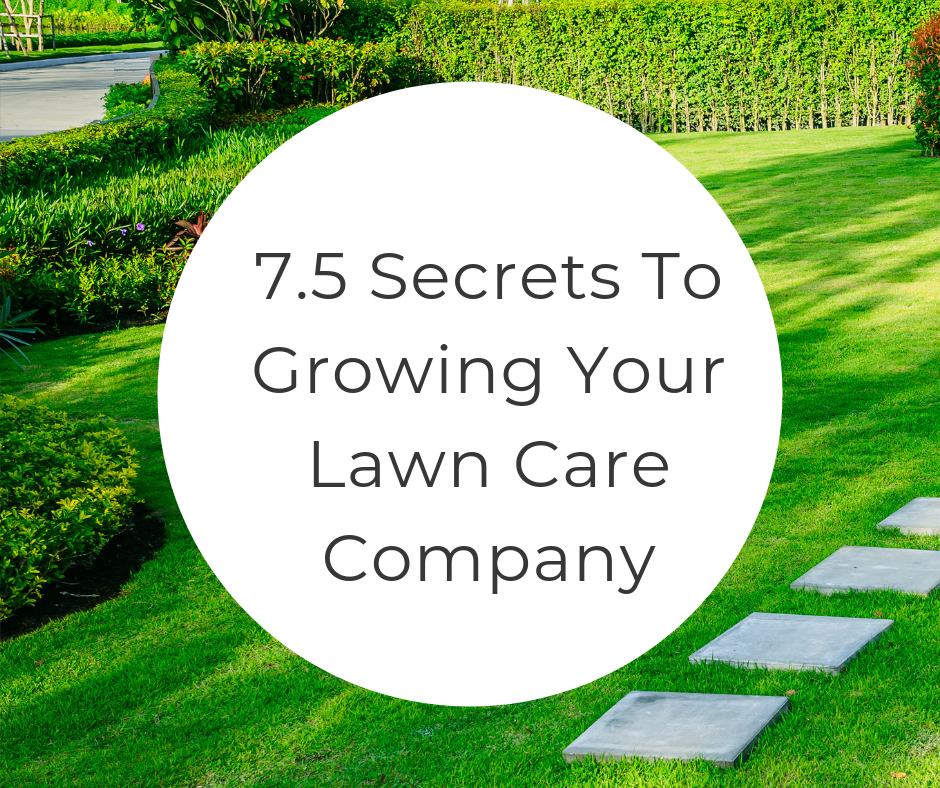 lawn care company marketing