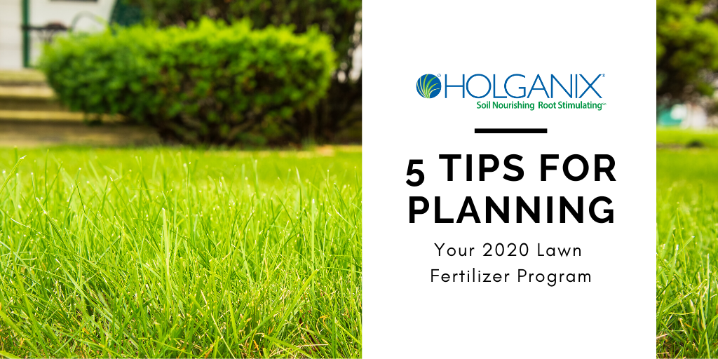 5 Tips For Planning Your 2020 Fertilizer Program