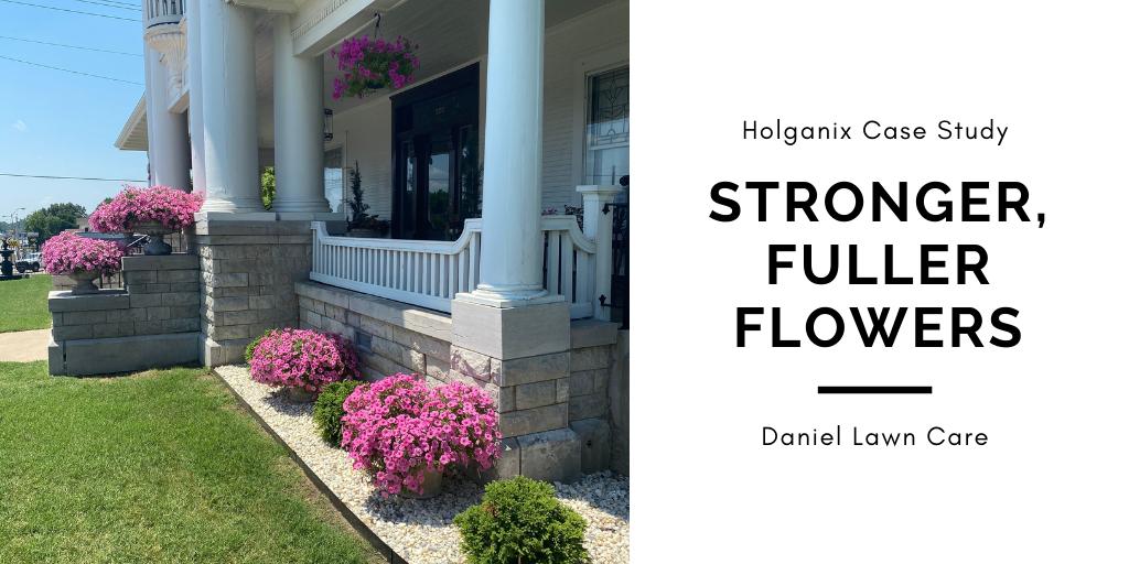 Holganix Case Study: Stronger, Fuller Flowers