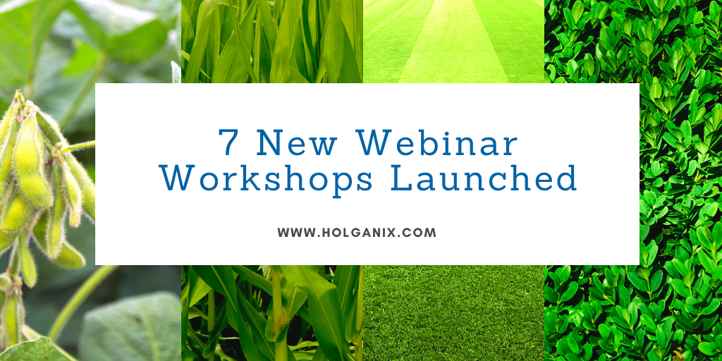 7 New Webinar Workshops Launched